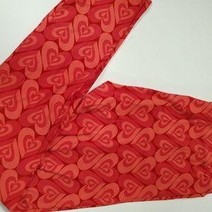 2 for $20 OS Leggings LuLaRoe NWT Hearts